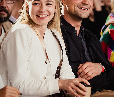 Максим Виторган и Нино Нинидзе на премьере фильма «Гив ми либерти»: первое фото пары