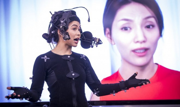 Технология Cubic Motion позволяет мгновенно создать виртуальную копию человека