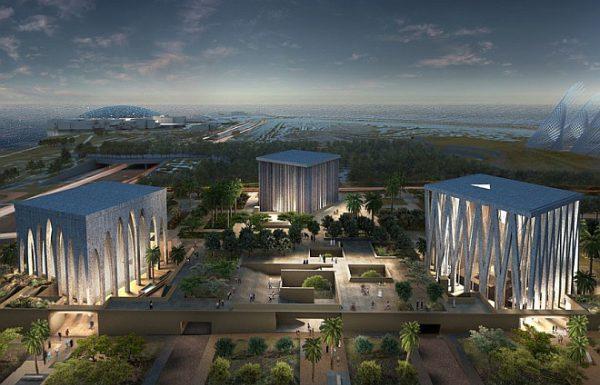 Дэвид Аджайе построит вблизи Лувра —Абу-Даби церковь, мечеть и синагогу