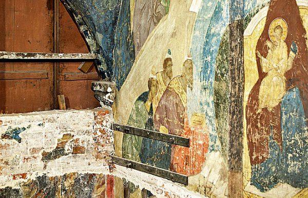 В Успенском соборе Московского Кремля нашли неизвестные фрески