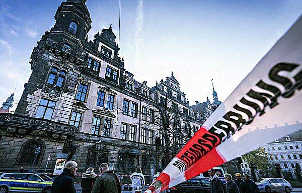 Дрезденские «Зеленые своды» ограбили рецидивисты