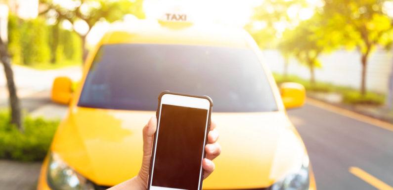 Как вызвать такси онлайн